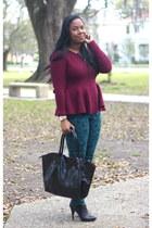 H&M sweater - asos jeans - Michael Kors watch