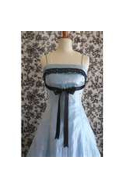 blue ribbon unknown dress