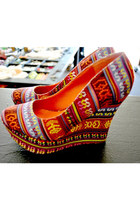 Carrot-orange-tribal-shoes-shoes