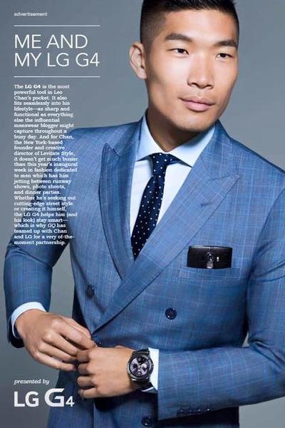 blue Combatant Gentlemen suit - dark gray LG accessories