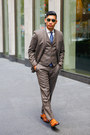 Monk-strap-bar-iii-shoes-light-brown-bar-iii-jacket-bar-iii-shirt