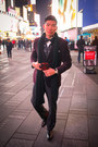 Black-oxfords-allen-edmonds-shoes-maroon-velvet-alfani-blazer