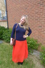 Navy-zara-jumper-red-whistles-skirt-navy-zara-necklace