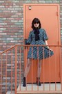 Indigo-girl-chinese-laundry-boots-dress-fishnet-tights