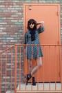 Indigo-girl-chinese-laundry-boots-dress-fishnet-tights