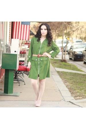 Zeagoo dress - The Limited jacket - Nine West heels