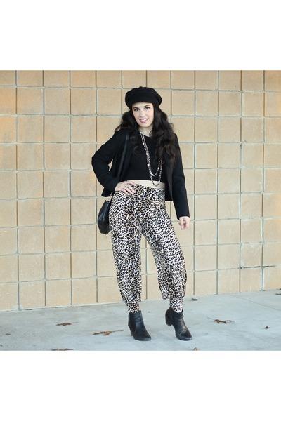 leopard pants pants