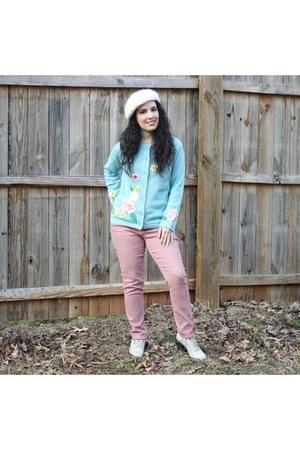 blue sweater sweater