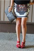 chicnova skirt - hey stud Libi & Lola bag - lock and key Libi & Lola bracelet