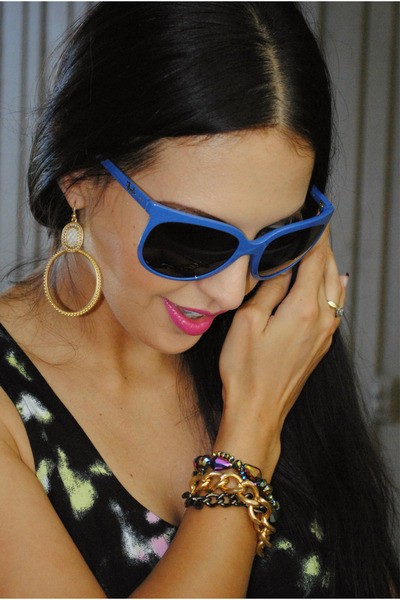 two faced Libi and Lola bracelet - gretchen hoops Libi and Lola earrings