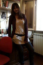 H&M dress - Topshop jeans - sweater
