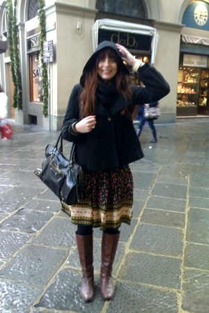 asos skirt - Topshop coat