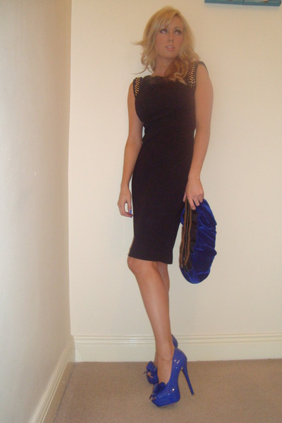 Black Bastyan Dresses Blue Reiss Bags Blue River Island Heels