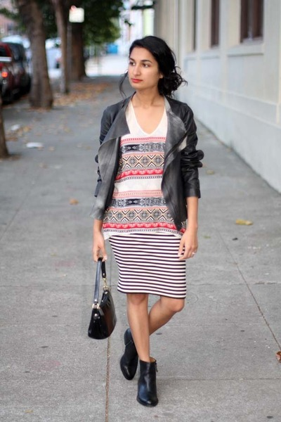 Gentle Fawn top - sosie Nine West boots - madewell skirt