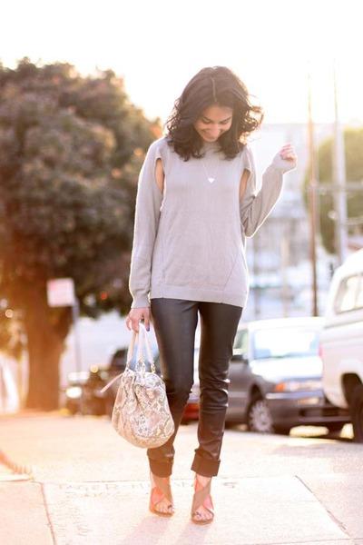 one grey day sweater