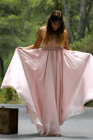 neutral Sheinside dress