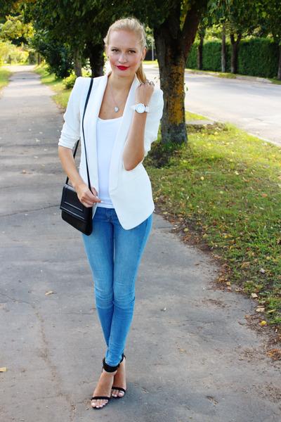 amp;m JeansBlack H White HeelsIvory Zara Ebay BlazersBlue CxBeWrdoQ