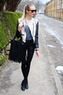 Black-h-m-boots-white-sammydress-jacket-black-ebay-bag