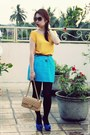 Chanel-bag-zara-heels-zara-skirt