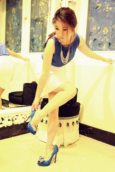 Zara dress - tony bianco heels