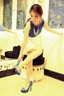 Zara-dress-tony-bianco-heels