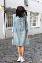 Denim Two-way Wear Overalls Dress C02