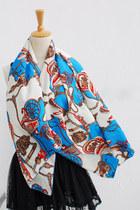 vintage print CrossWoodStore scarf