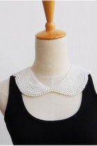 white pearl peter pan CrossWoodStore necklace