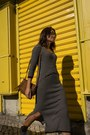 Navy-springfield-dress-light-brown-mango-bag-dark-brown-mango-sunglasses