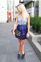 Ptrizia Pepe dress - Givenchy shoes - Louis Vuitton purse