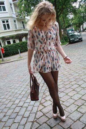 peach Oasapcom dress - neutral neckermannde heels