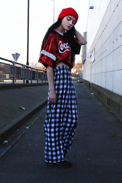 maxi skirt Vintage Licks skirt