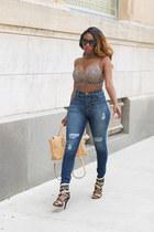 Lillys Kloset jeans - Lillys Kloset bag