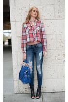LillysKloset jeans - Lillys Kloset purse - Lillys Kloset top