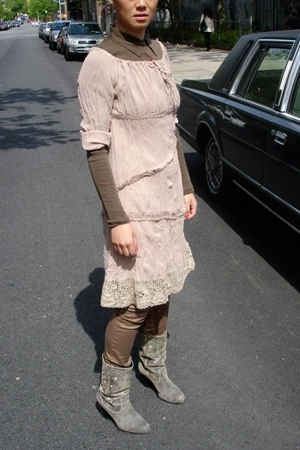Belai dress - VANESSA BRUNO top - Seychells - Motivi pants