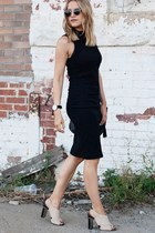 black body con Forever 21 dress