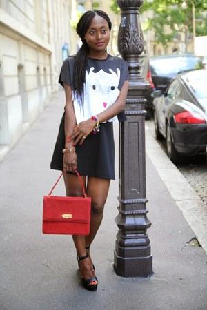 SANDRO skirt - asos top - Zara sandals