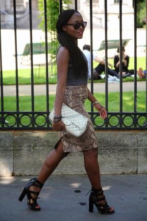 Chanel bag - Alexander Wang shoes - hm t-shirt