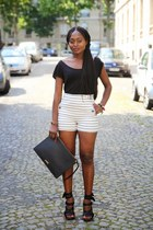 Bimba & Lola bag - Zara shorts - Alexander Wang sandals