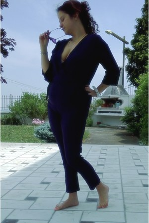 navy Aliexpress bodysuit