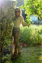 Vidakush ring - vintage Vidakush sunglasses - Lucky Brand heels