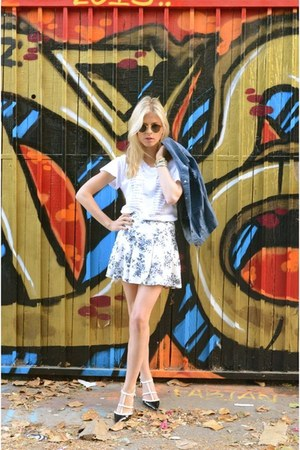 la mer watch - Wildfox shirt - vintage American Apparel sunglasses