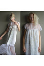 Off-white-silk-handmade-dress