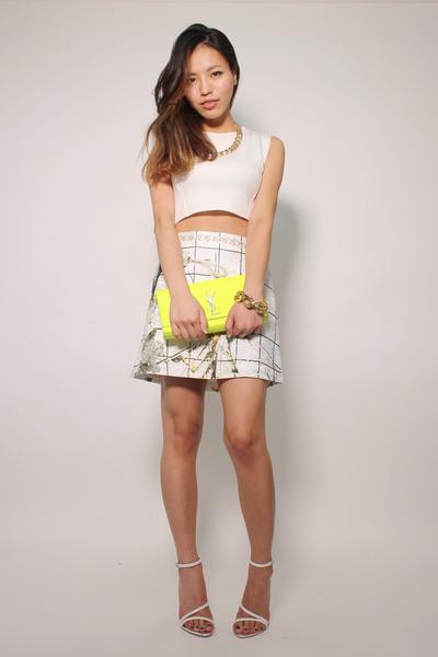 72edbdf78c75e4 White Zara Crop Top - How to Wear and Where to Buy | Chictopia