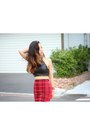 Light-brown-shopbop-coat-red-plaid-check-free-people-skirt