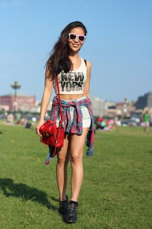 vintage Levis shirt - 31 Phillip Lim bag