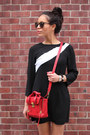 Sporty-stripe-zara-dress-red-red-satchel-31-phillip-lim-bag