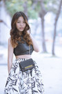 Black-cross-body-club-monaco-bag-white-maxi-skirt-aliceandolivia-skirt