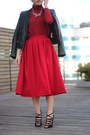 Red-turtleneck-red-zara-sweater-red-midi-red-winter-asos-skirt