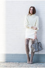 Tan-asos-boots-off-white-american-apparel-sweater